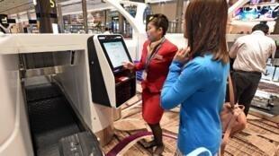 Le T4 est doté d'un système d'enregistrement entièrement automatisé qui scanne le visage des passagers.