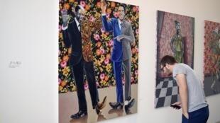 L'artiste JP MIka était déjà passé à Paris, comme ici en 2015 à la Fondation Cartier.