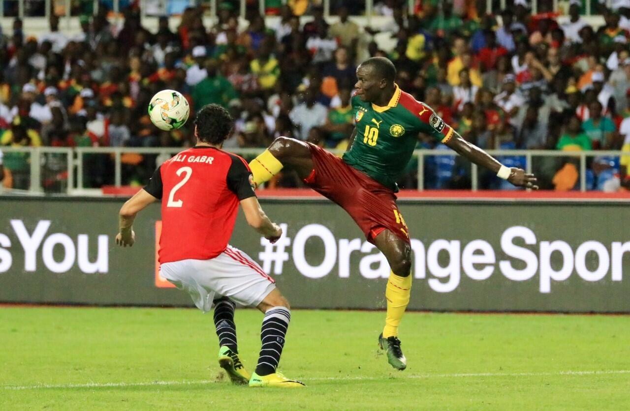 Vincent Aboubakar akionyesha ujuzi wake.