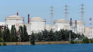 Nhà máy điện hạt nhân ở Tricastin, Pháp. Ảnh chụp ngày 10/09/2018.