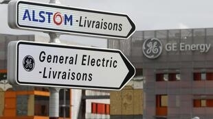 Signs of the times - indications for Alstom's and GE's sites at Belfort, eastern France
