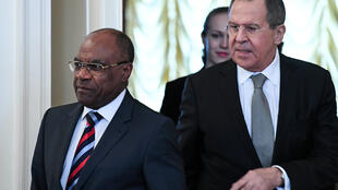 Le ministre congolais des Affaires étrangères, Leonard She Okitundu.
