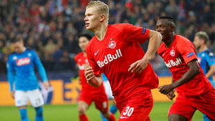 Dan wasan gaba na kungiyar Borussia Dortmund Erling Haaland