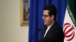 عباس موسوی سخنگوی وزارت امور خارجۀ جمهوری اسلامی ایران