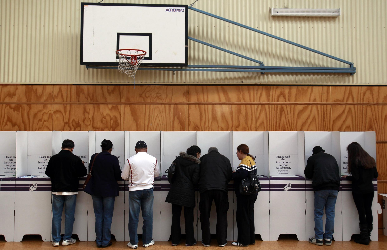 Eleitores vão às urnas em Melbourne neste sábado 21 de agosto.