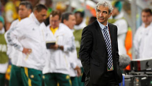 Raymond Domenech's reign as French manager came to a sorry end with a 2-1 loss to South Africa