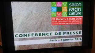 Le salon International de l'Agriculture, 53e édition, se tiendra du 27 février au 6 mars 2016 à Paris Expo Porte de Versailles.