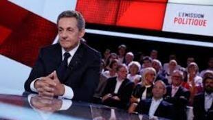 "Nicolas Sarkozy no programa ""Emissão política"" (France 2)"