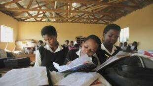Ecole à Mwezeni en Afrique du Sud.