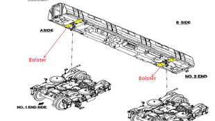 图为网络疑似解释列车裂纹质量问题图解