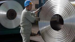 武漢郊區一冷軋鋼廠2006年8月22日