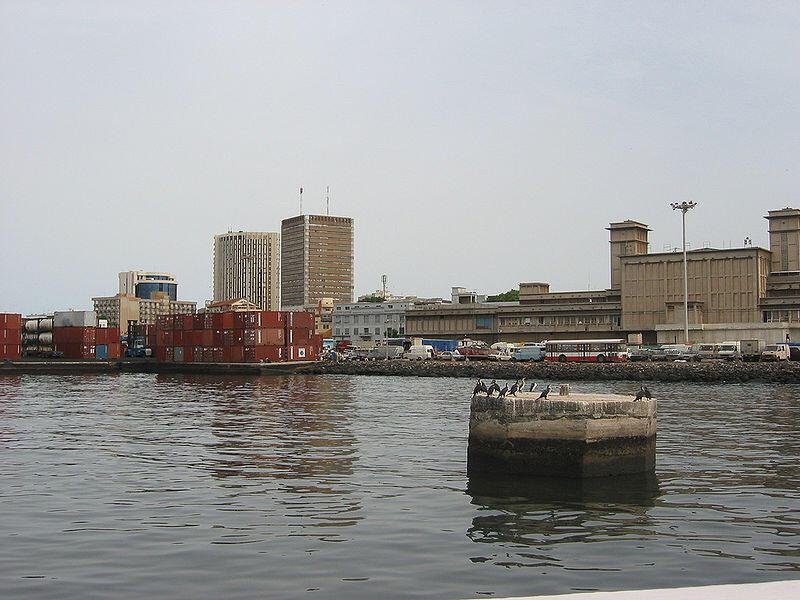 Port de Dakar, Sénégal.