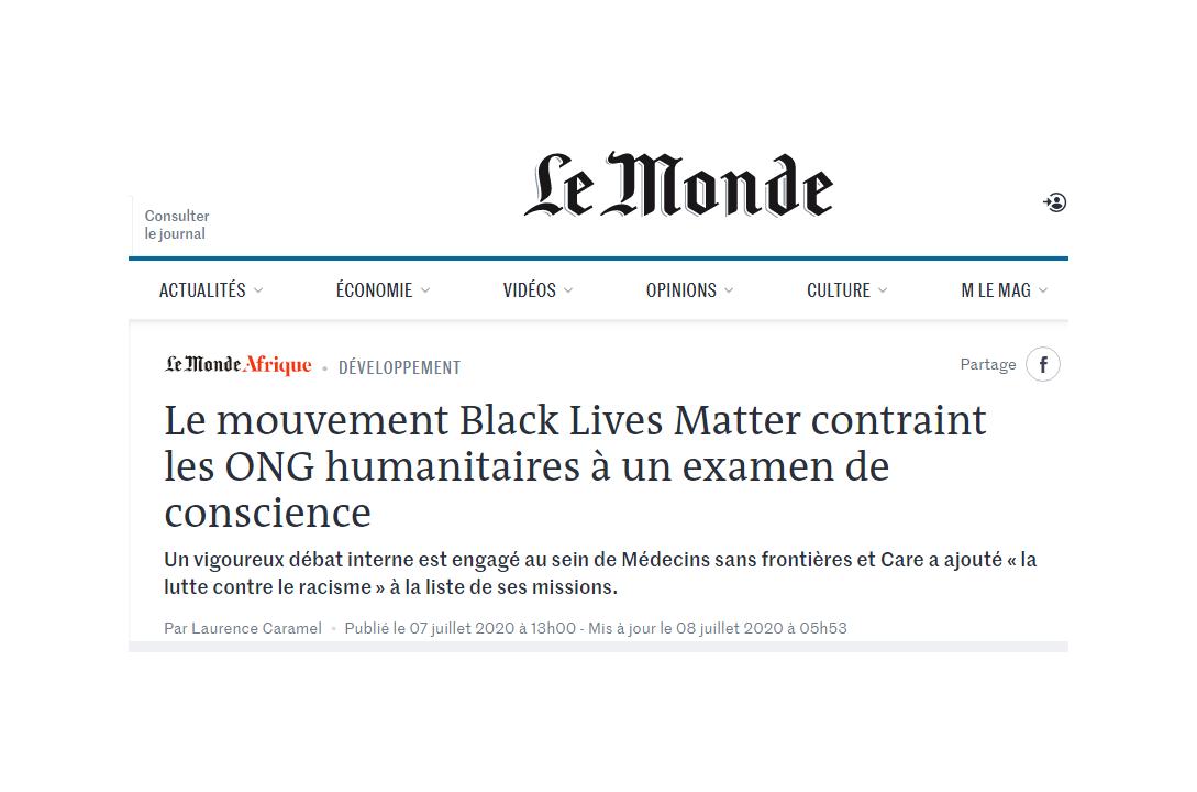 Le Monde-Afrique (capture d'écran).