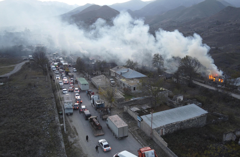 Image d'archive RFI - Haut-Karabakh en novembre 2020