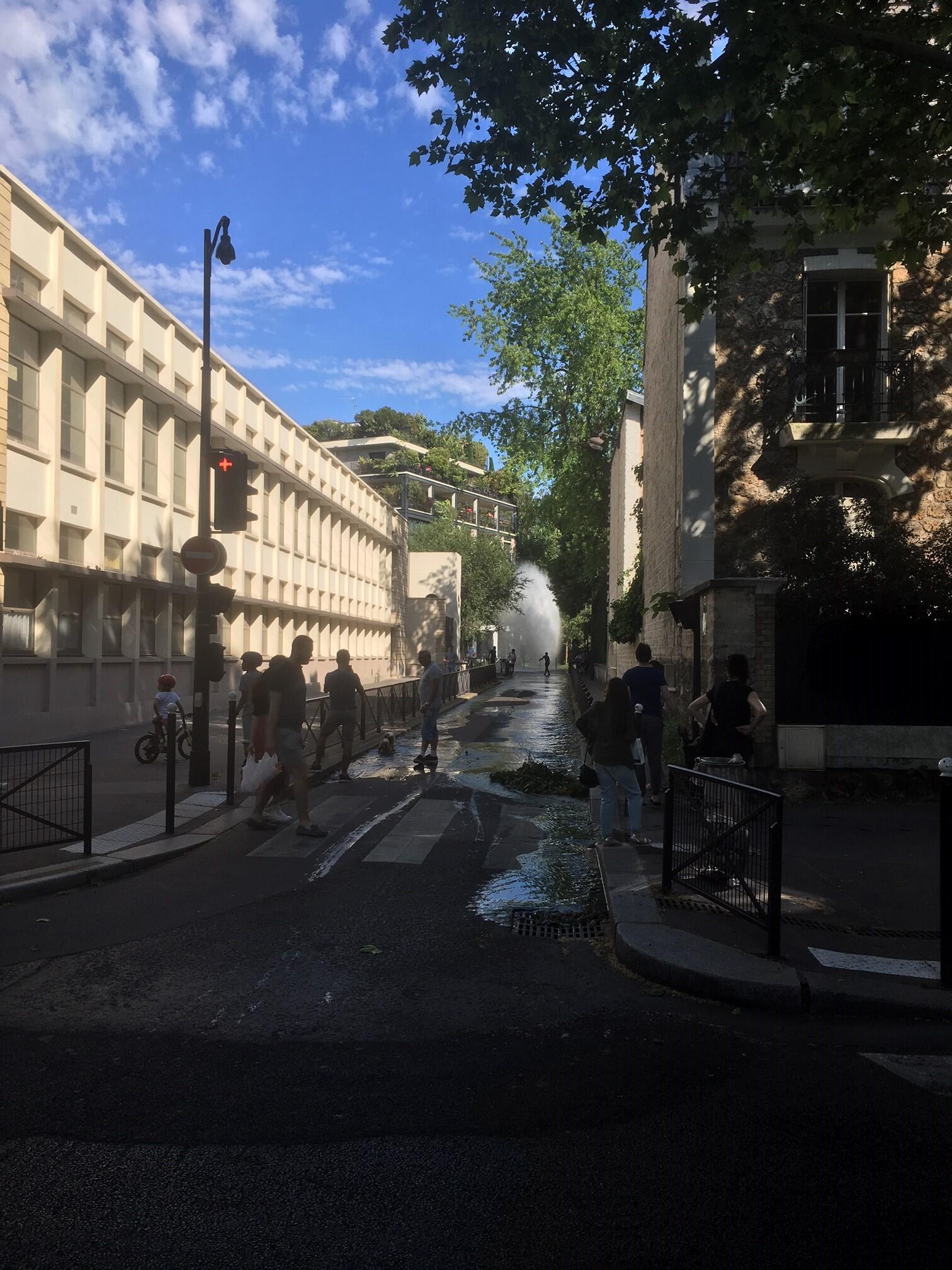 En el distrito 15 de París, junio de 2019.