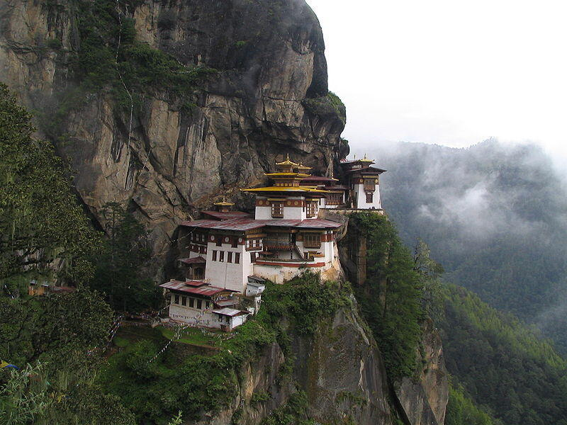 Taktshang Monastery in Bhutan