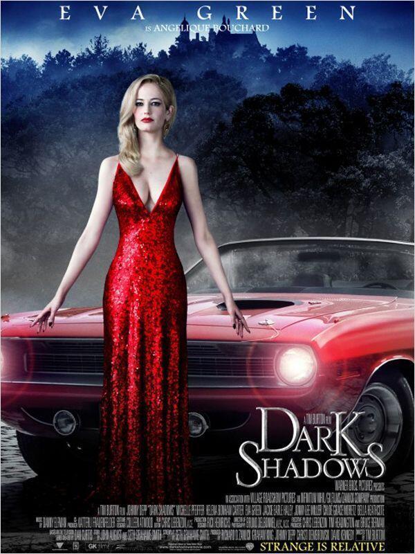 Eva Green vào vai phù thủy Angelique trong Dark Shadows (DR)