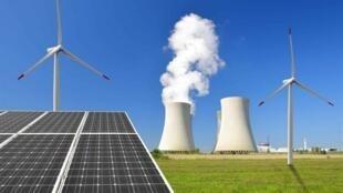 圖為世界能源選項彙集圖