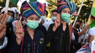 Birmanie-Karen-minorité ethnique