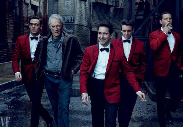 Đạo diễn Clint Eastwood và các diễn viên trong phim Jersey Boys - DR