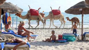 Les Tunisiens ont renforcé la sécurité sur les plages. Photo: l'île de Djerba en septembre 2016.