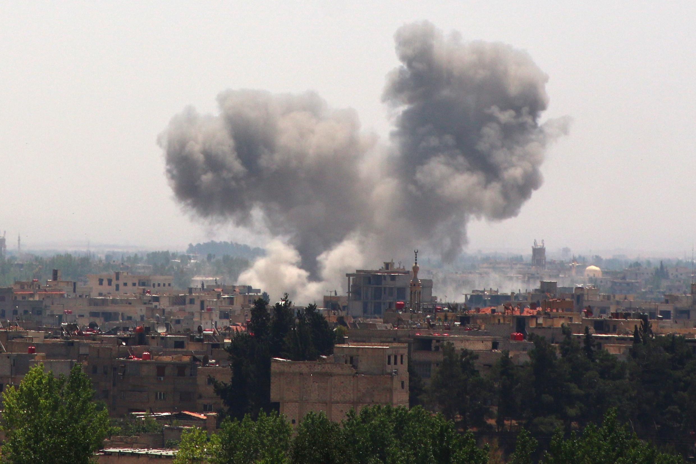 Сирия, Ghouta, 21 мая 2015 года