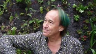 Patrick Blanc. à Chaumont-sur-Loire, en 2009