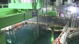Imagem da central de Fukushima