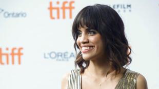 """L'actrice Natalie Morales arrive au Festival international du film de Toronto pour """"Battle of the Sexes"""", le 10 septembre 2017."""
