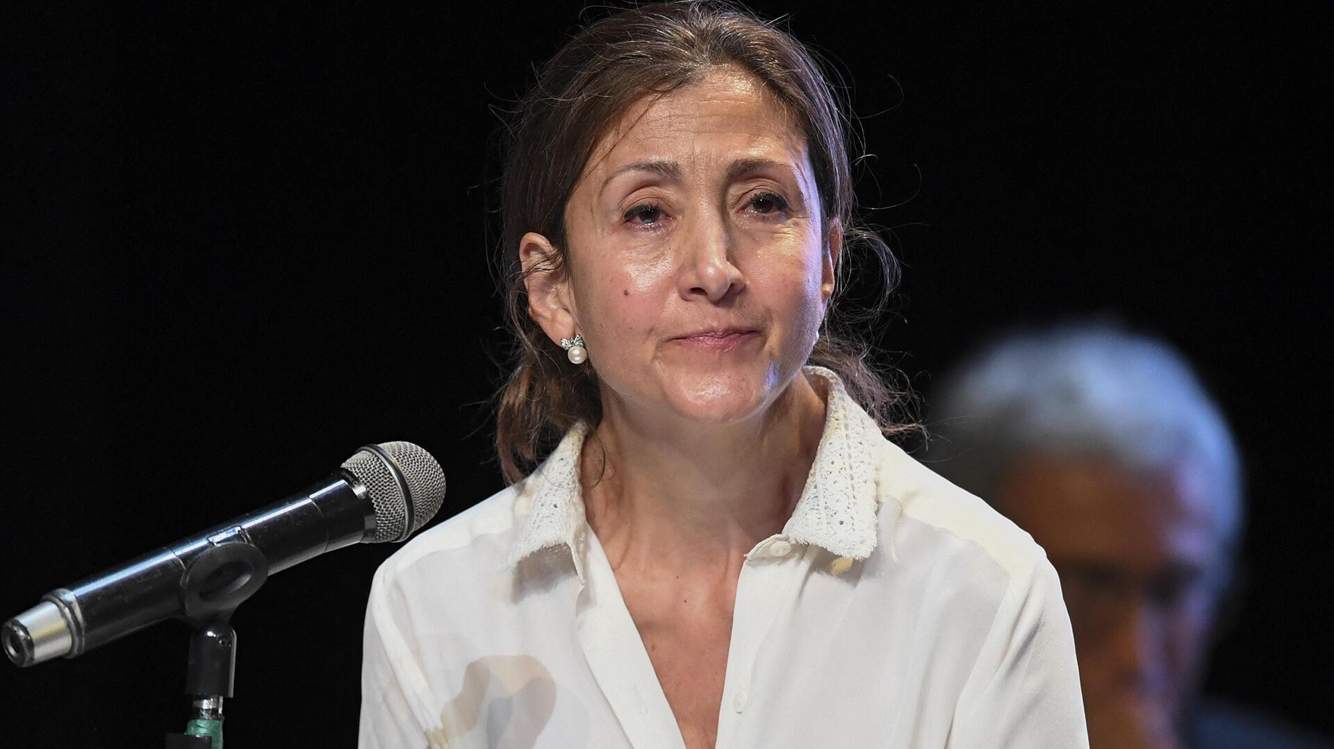 Ingrid Betancourt - Franco-Colombienne - 23 juin 2021 - AFP - 000_9CZ3TQ