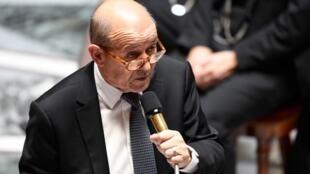 Министр иностранных дел Франции Жен-Ив Ле Дриан.