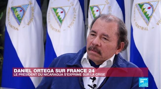 """Daniel Ortega: """"Estou disposto a conversar com Trump""""."""