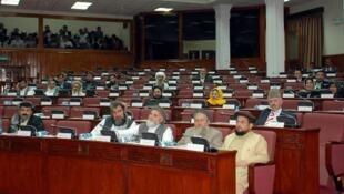 نمایی از جلسات پارلمان افغانستان