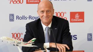 Президент концерна Airbus Том Эндерс, 3 ноября 2017.