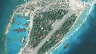 Entre le 29 mai 2014 et le 3 janvier 2016, l'île Spratley, l'un des porte-étendards du Vietnam dans l'archipel du même nom, a considérablement changé.