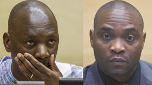 Thomas Lubanga et Germain Katanga.