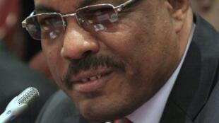 Le vice-Premier ministre éthiopien Hailemariam Desalegn.