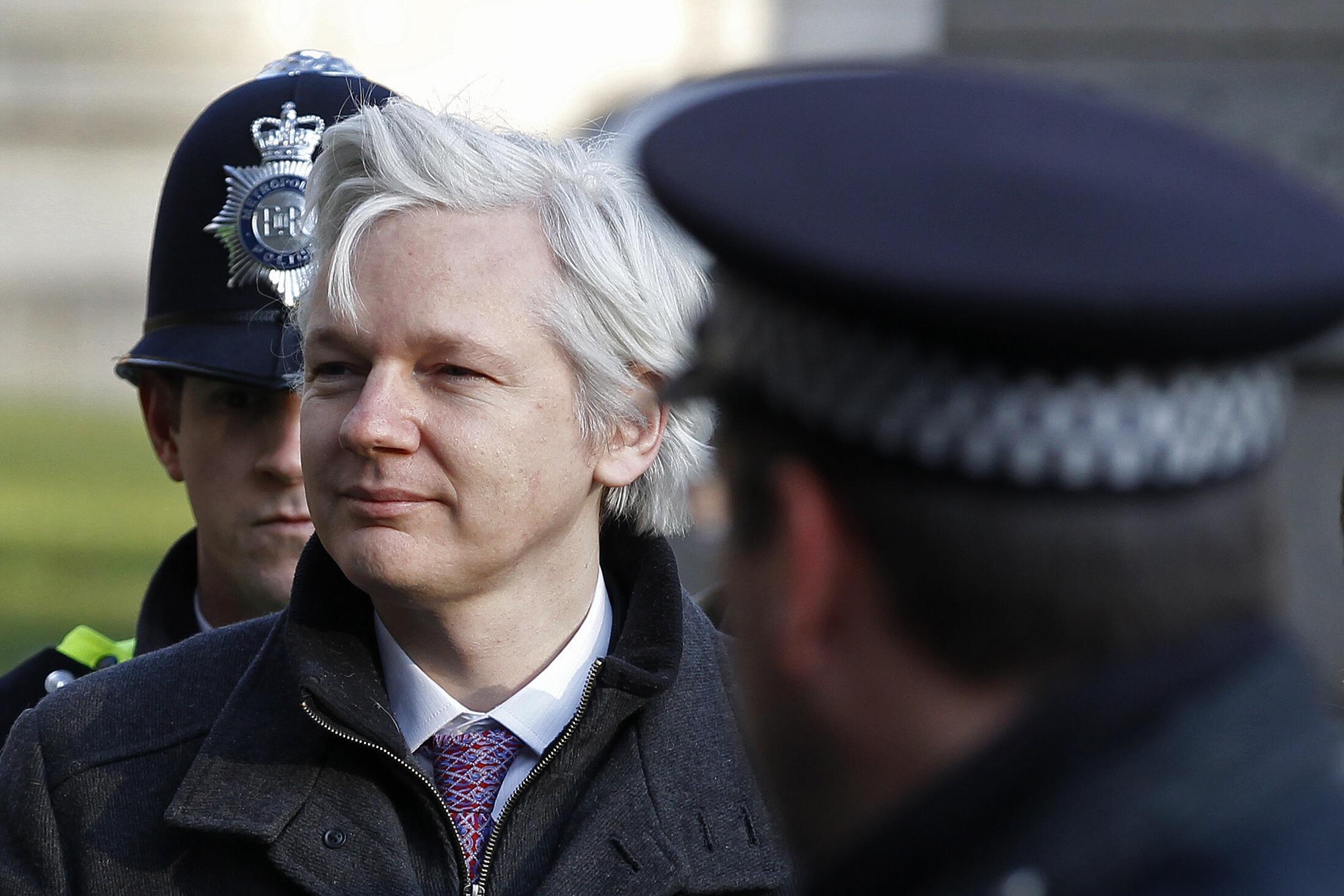 Mwanzilishi na Mmiliki wa Mtandao wa Kichunguzi wa WikiLeaks Julian Assange ambaye rufaa yake imetupiliwa mbali na Mahakama Kuu Nchini Uingereza