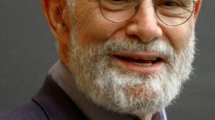 O neurologista e escritor Oliver Sacks na Columbia University de Nova York, em 3 de junho de 2009.
