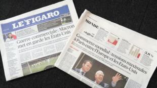 A imprensa francesa desta quinta-feira (31) destaca as propostas de Emmanuel Macron para reformar a Organização Mundial do Comércio (OMC).