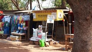 Magasin d'alimentation à Ouagadougou, Burkina Faso.