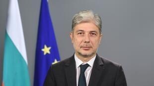 Neno Dimov, le ministre de l'Environnement et de l'Eau bulgare, le 15 novembre 2017.