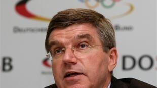 Thomas Bach, le président du CIO.
