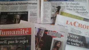 Primeiras páginas dos jornais franceses 16 de maio de 2019