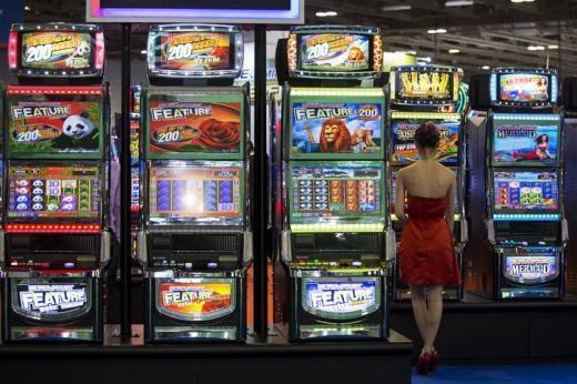 Một góc hội chợ Global Gaming Expo Asia, tại Macau ngày 20/05/2014.