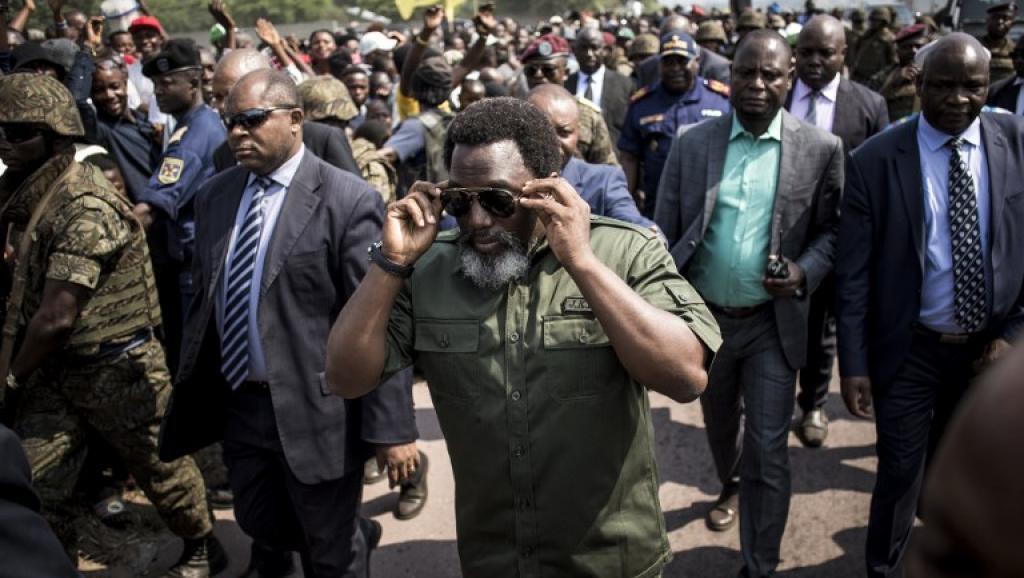 Rais wa DRC Joseph Kabila, wakati wa uzinduzi wa kampeni nchini DRC Novemba 22 2018