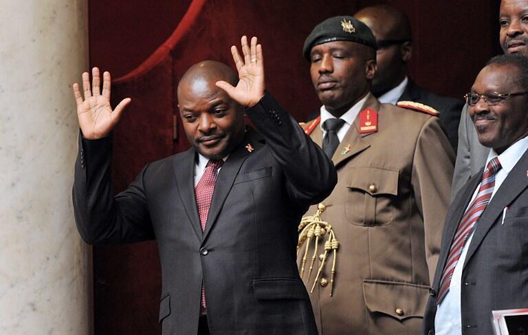 Rais wa Burundi, Pierre Nkurunziza