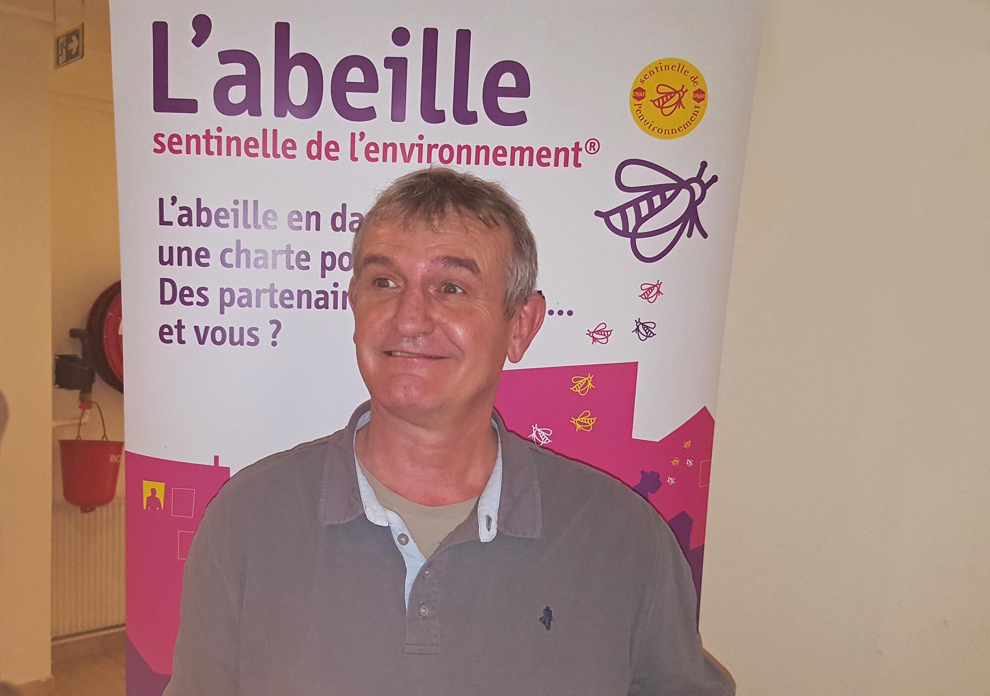 Henri Clément, secrétaire général et porte-parole de l'Union nationale de l'apiculture française