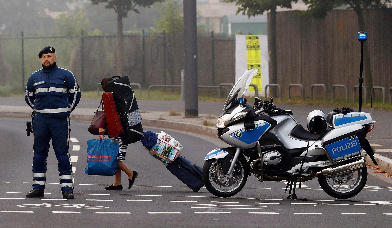 Во Франкфурте-на-Майне началась крупнейшая эвакуация из-за обнаруженной бомбы времен войны