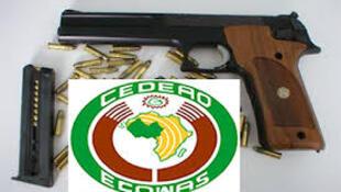 Logo da Convenção da CEDEAO sobre armas ligeiras.